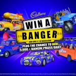 Cadbury Win a Banger Prize Promotion Image | Element