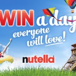 Nutella Win a Day Everyone Will Love Prize Promotion