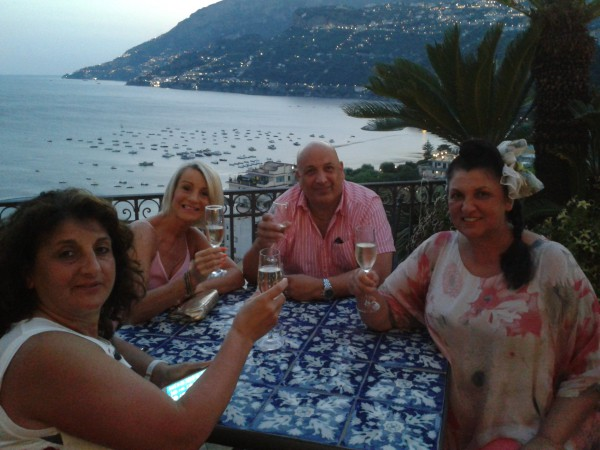 Let's Do Lunch - ITV - Amalfi Coast Prize