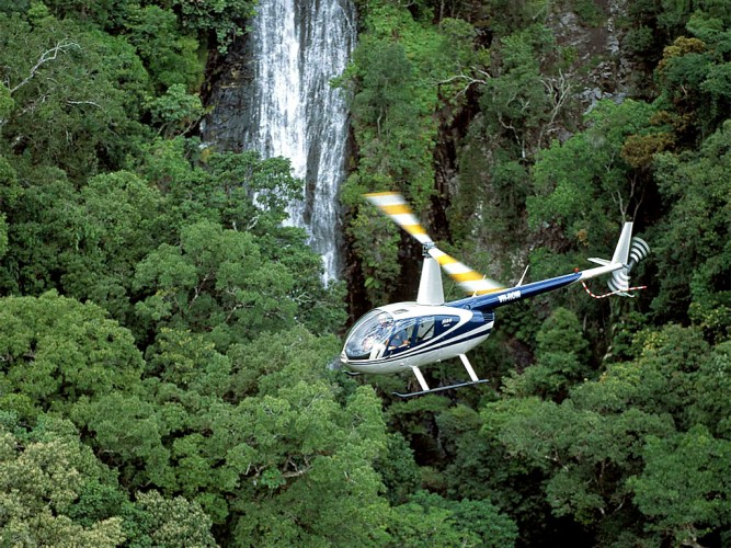 rainforest helicopter