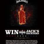 Jack Daniels - Win a BBQ in Jack's Backyard Prize Promotion | Element