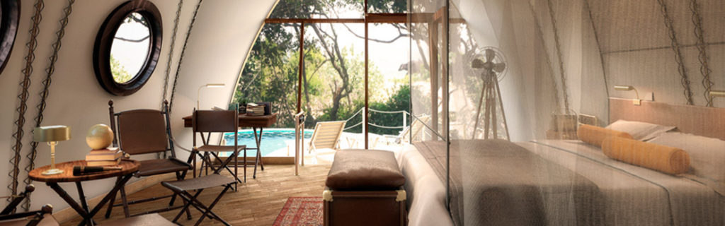 Sri Lanka Wild Coast Tented Lodge Luxury Tent for Prize Promotion