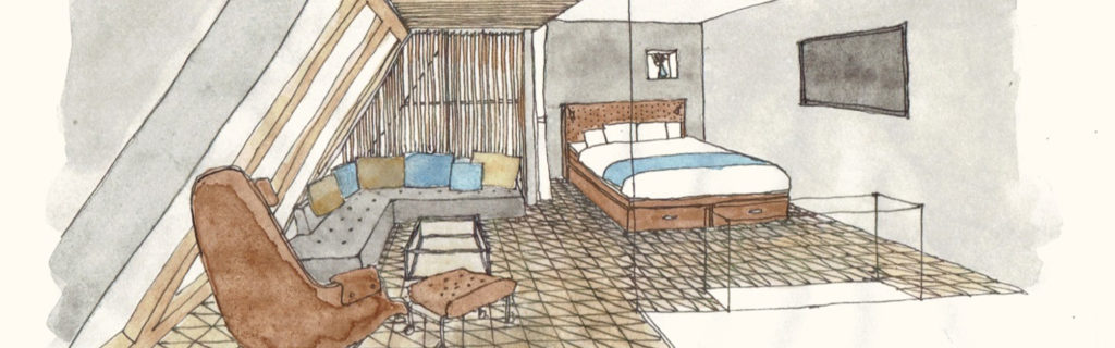 WIRED HOTEL in Tokyo concept image of room, an excellent prize promotion destination
