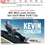 Kevin Can Wait Sony Germany New York Prize Promotion image with Bild Newspaper | Element - The Prize & Incentive People