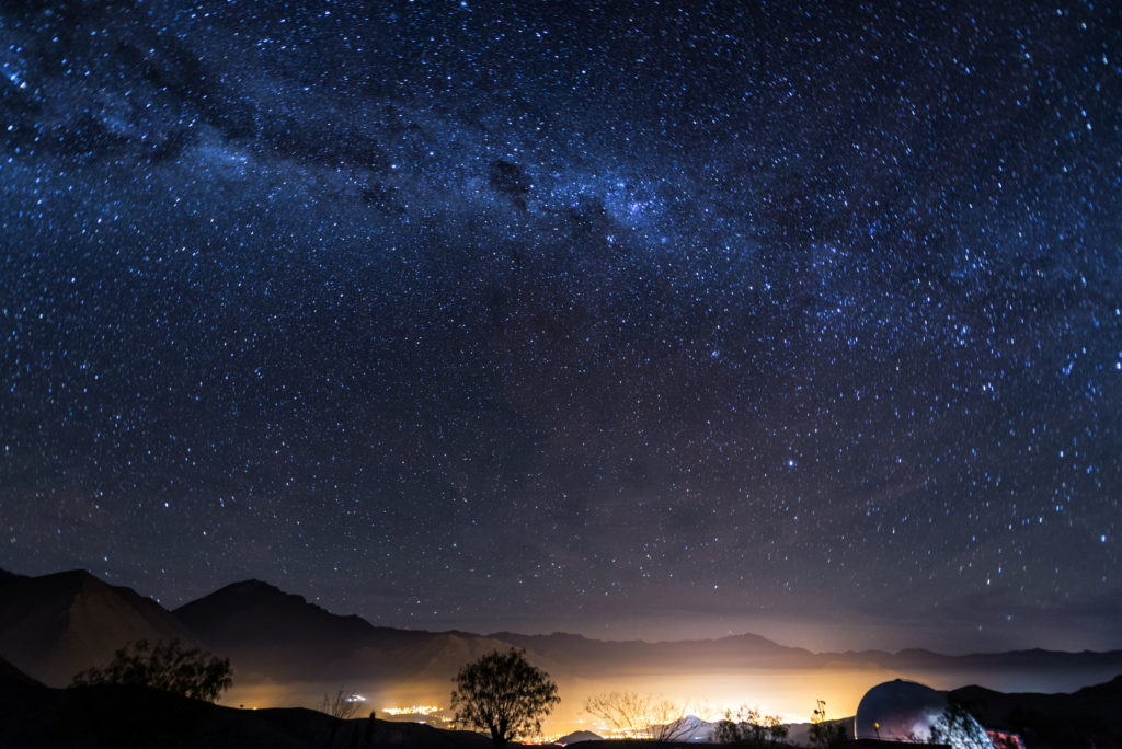 Chile at night, Elqui Valley to illustrated once-in-a-lifetime incentives | Element - The Prize & Incentive People