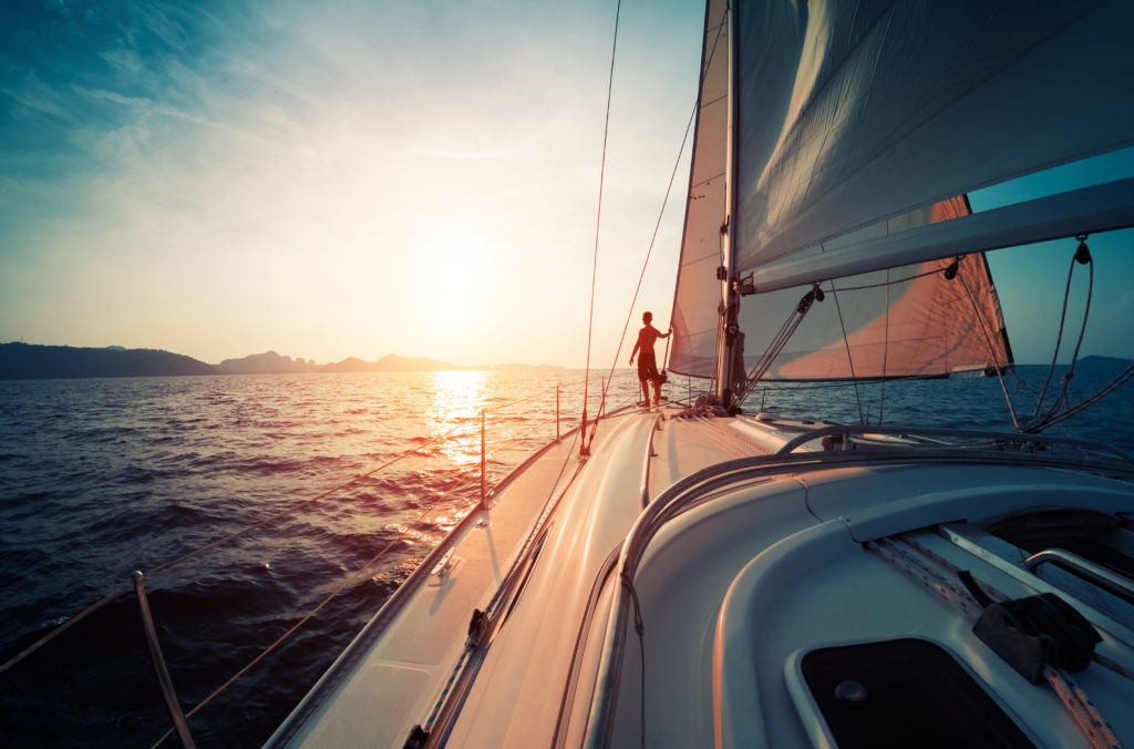 yacht break to illustrate sales incentives ideas   Element - The Prize & Incentive People