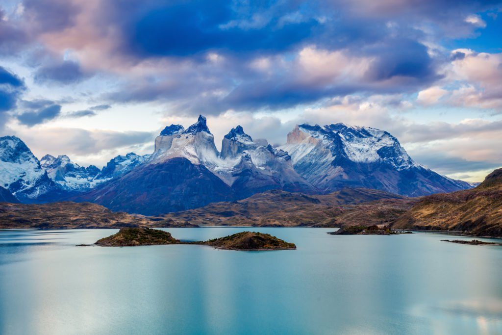 Torres del Paine National Park view over Lake Pehoe, Chile - an Element Incentive Travel Destination tip for 2017