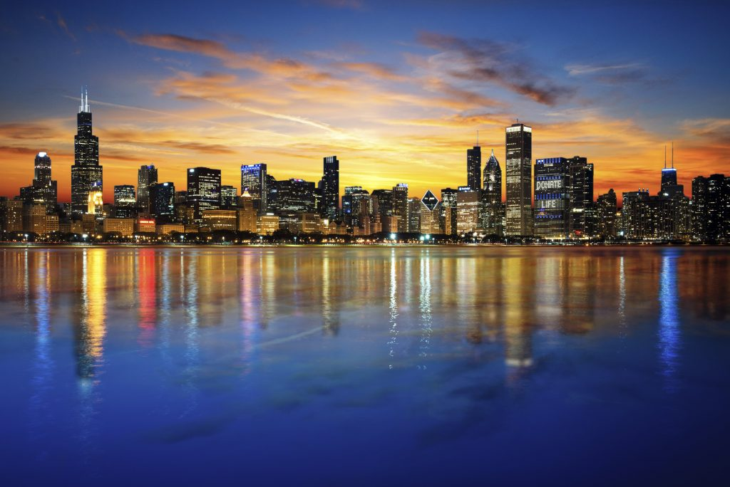 Dream Incentive Destination: Chicago from the Adler Planetarium on Lake Michigan   Element - The Prize & Incentive People