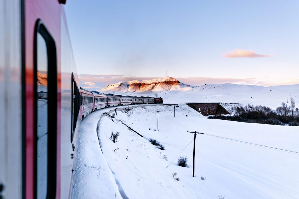 Train image to illustrate Christmas Lunch on the Orient Express Christmas Incentives | Element