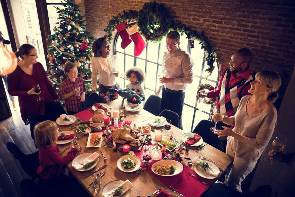 Family Together Christmas Celebration to illustrate private chef Christmas incentive | Element